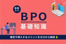 BPOとは?アウトソーシングとの違いや基礎知識・導入するメリットを解説