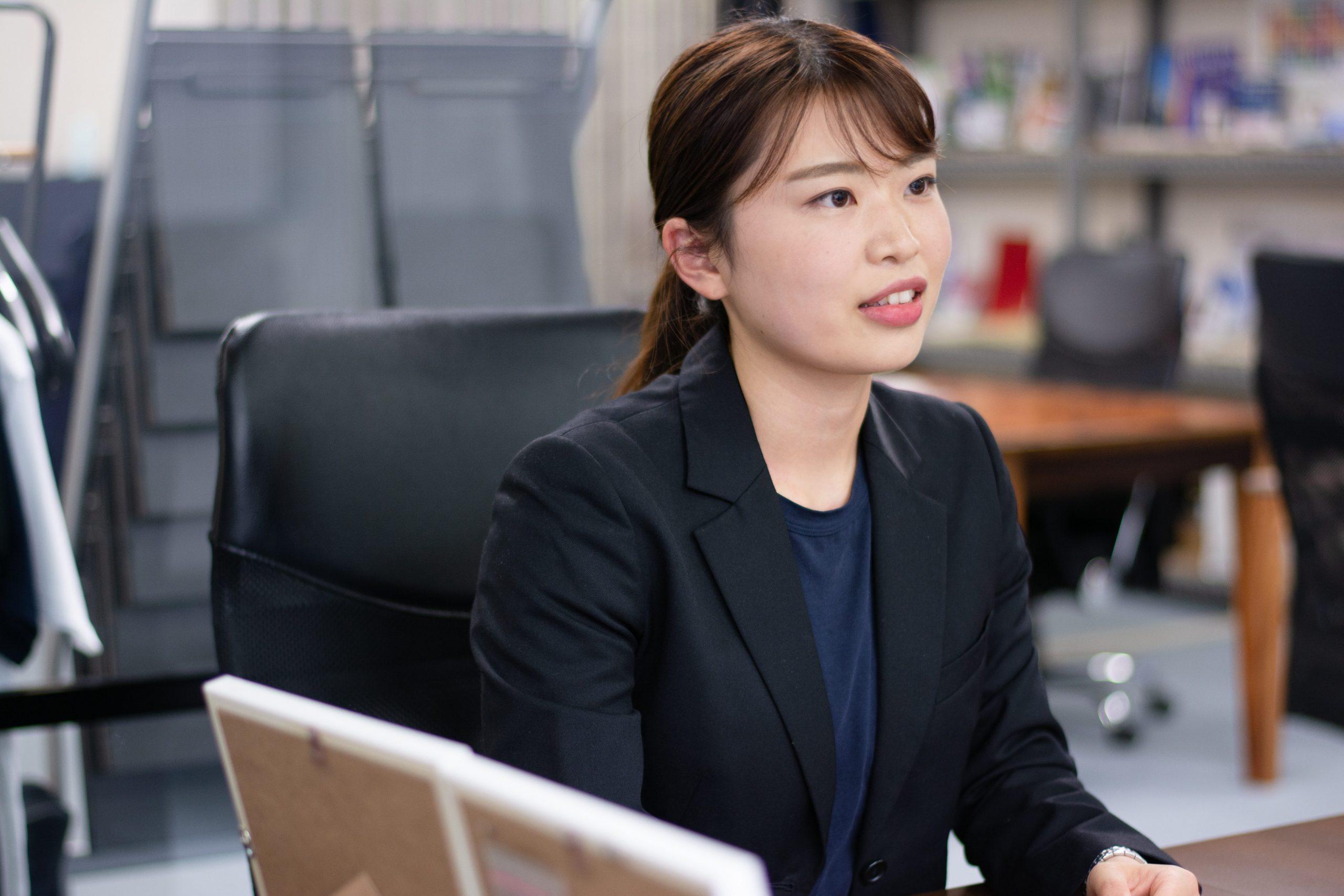 白井グループ株式会社 営業企画部 主任 小貫 桃花 さま